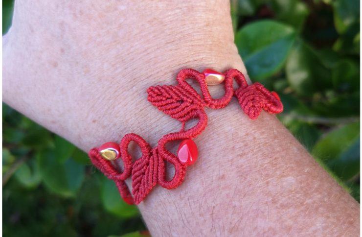 Le bracelet Leaf…