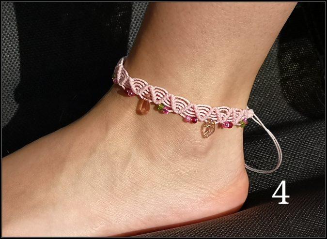 Les bracelets de cheville !