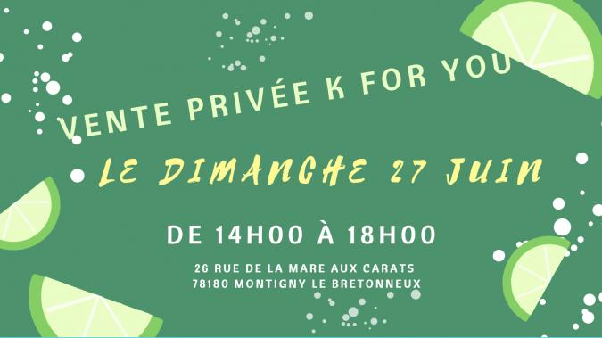 La vente privée K For You!